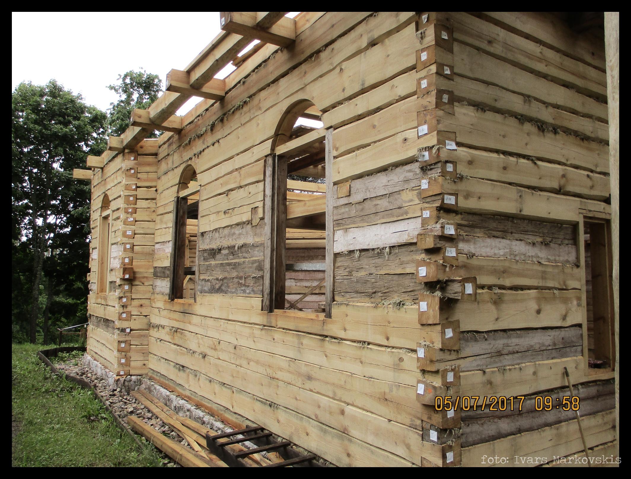 Pabeigta Bērzpils kapličas atjaunošana