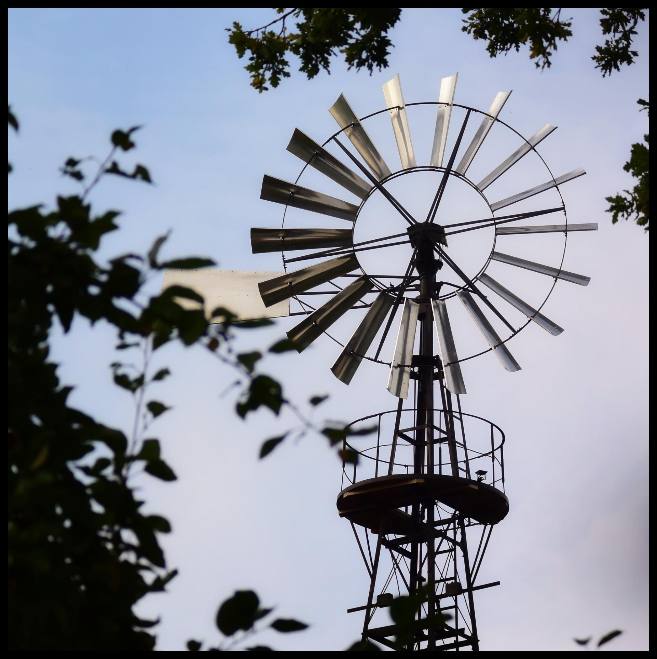 Bīriņu ūdenstorņa vēja rotors