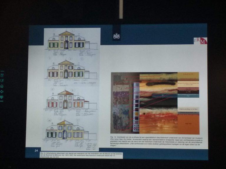 Krāsas noteikšana un dokumentēšana arhitektoniskajā izpētē